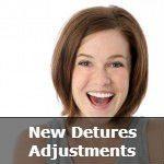 New Dentures Adjustment