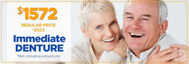 Our 1-Day Anchorage denture specialists are specially trained to perform denture services and denture surgical procedures all under one roof.